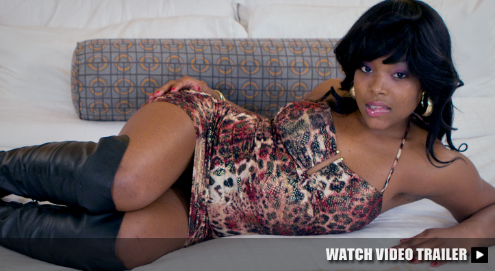 Sexy Black Teen in Hooker Boots 1st time Amateur Porn Video